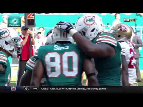 All Miami Dolphins 2016-2017 Touchdowns