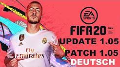 FIFA 20 Update 1.05 Deutsch Info - FIFA 20 Patch 1.05 Deutsch Info