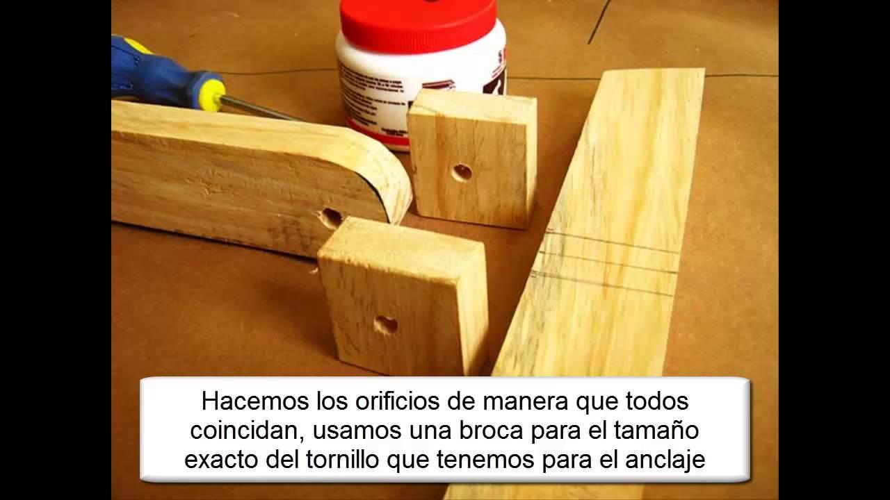 Como hacer caballete para pintar youtube - Caballetes de madera ...