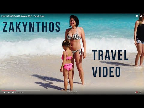 The beautiful place called 'Zakynthos' , Greece. First travel video