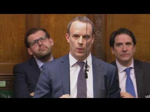 Dominic Raab  MP - Don't weaken the government