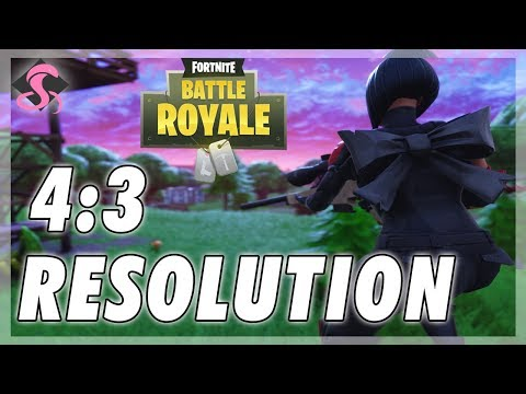 How to play 4:3 stretched resolution in Fortnite | FunnyCat.TV