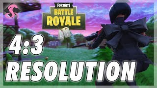A Guide on How to Get a 4:3 Aspect Ratio Resolution on Fortnite Battle Royale