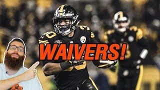 Waivers Week 1 Fantasy Football 2018