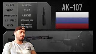 REACTION to Russian AK-107