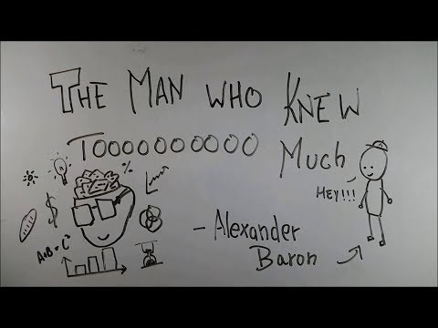 The Man Who Knew Too Much - ep01 - BKP | alexander  baron | cbse class 9 english explanation