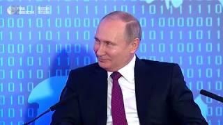 Путину рассказали анекдот про тракториста 09.02.2018