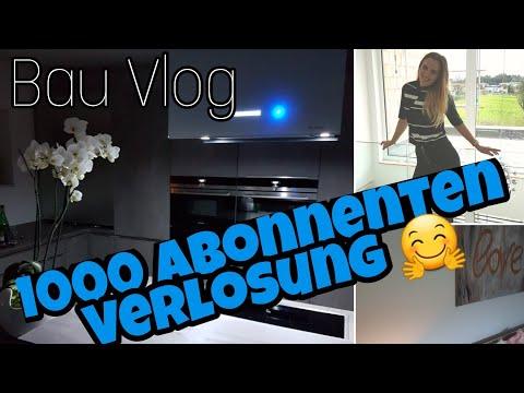 Hausbau Blog 38| Küche endlich fertig!| Smarthome App Cube Vision| + Verlosung 1000 Abos 🤗