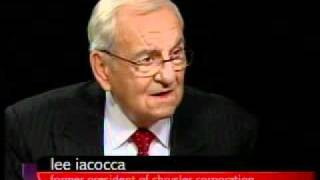 Charlie Rose - A Conversation with Lee Iacocca, part 1