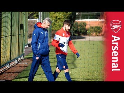 Arsene Wenger's matchday routine