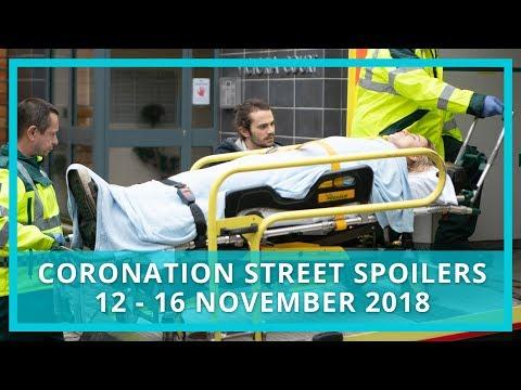 Coronation Street Spoilers | 12th - 16th Nov 2018