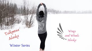 Talkeetna, Alaska.  Wings and Wheels Alaska Winter Series