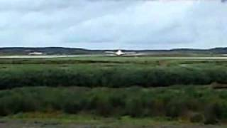 First Airbus 380 takeoff from Stockholm-Arlanda