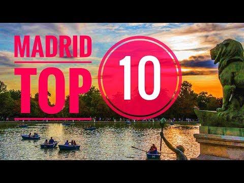 MADRID TOP 10 LUGARES: Qué ver y visitar en Madrid. Guía turística de Madrid (España) 2017