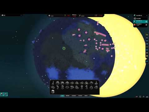 Planetary Annihilation Gamma : 3 Player Free For All - Setting up a backyard