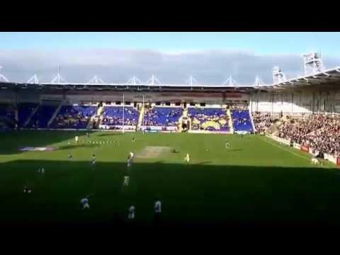 Simon's Away Days - Halliwell Jones Stadium