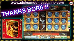 SLOTS - BOOK OF RA 6 + MORE 🚨 BIG WIN CASINO BONUS GAME PLAY - CASHOUT