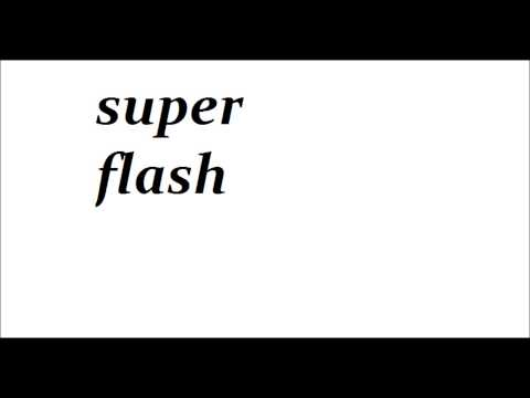 SUPER FLASH -RAP 1