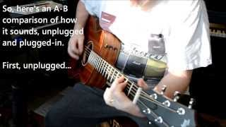 Taylor GS Mini-e Review and Demo - A/B acoustic vs plugged in