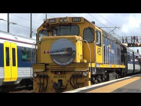 RES Excursion Last Diesel Train Auckland