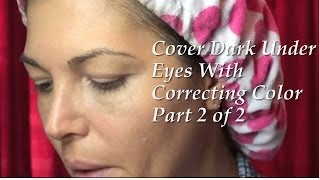 EYE CONCEALER FOR DARK CIRCLES, TEAR TROUGH (Part 2) Eve Pearl, Maybelline Products