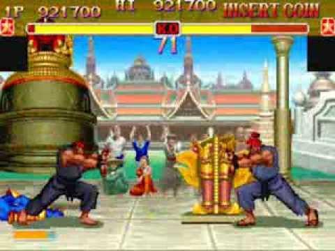 Super Street Fighters 2 Turbo Jugando Como Evil Ryu
