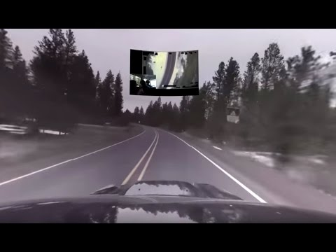 360-degree video of the highway where LaVoy Finicum died