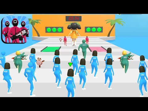 Squid Game 🦑🦑 All Levels Gameplay Trailer Android,ios New Game
