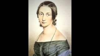 Clara Schumann - Trois Romances pour le pianoforte, Op. 11, n° 1. Andante (mi bémol mineur)