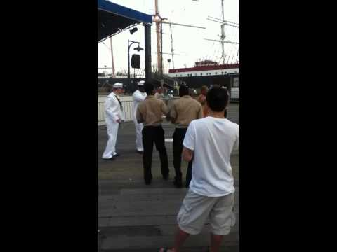 Navy took over southstreet seaport
