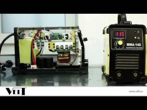 Proba de sudura invertor sudura IGBT Velt MMA 140