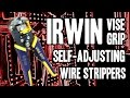 Irwin VISE-GRIP Self-Adjusting Wire Strippers 8-inch (2078300)