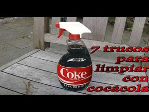 Limpiar con coca cola 7 trucos de limpieza youtube - Quitar oxido coca cola ...