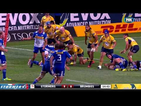 Super Rugby: Stormers V Brumbies (Round 4)