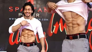 Watch What Happens When Tiger Shroff Shows His 6 Pack Abs