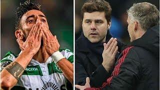 Bruno Fernandes' agent holds Sporting meeting key to Man Utd and Tottenham transfer hopes- transf...