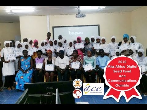 Ace Communications Exec. – The Gambia, Winner 2019 Miss.Africa Digital Seed Fund