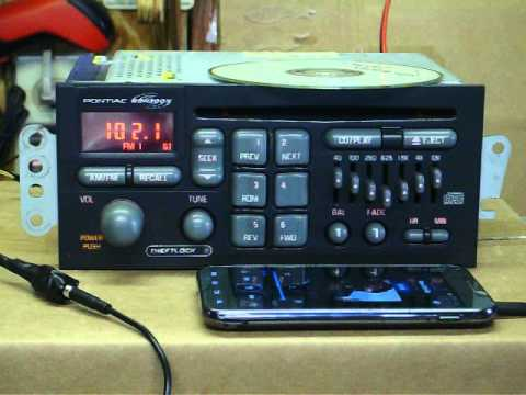 4th Gen Trans Am radio with Mp3 aux. input