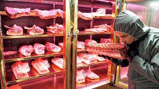 한달에 돼지고기만 10톤?! 숙성시간만 한달이상! 80…