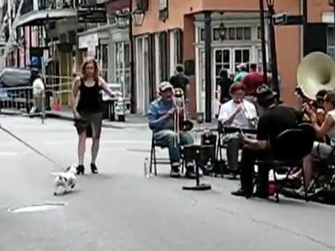 Live music in New Orleans Street Skinny - YouTube.flv