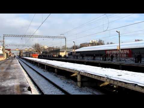 [HD]ЧС2Т-952 с Фирменным поездом Карелия