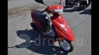 Suzuki Address V50 New-EFI, красный.