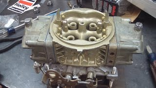 Holley Double Pumper Rebuild With An HP Main Body Conversion
