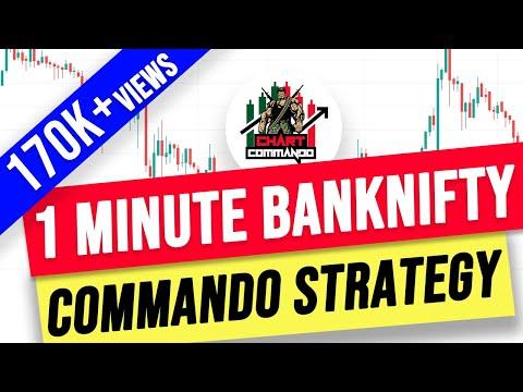 अब चाहे जितना कमा लो …  1 minute Bank Nifty Commando strategy  