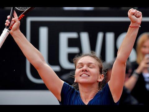 2017 Internazionali BNL d'Italia Semifinals | Simona Halep vs Kiki Bertens | WTA Highlights