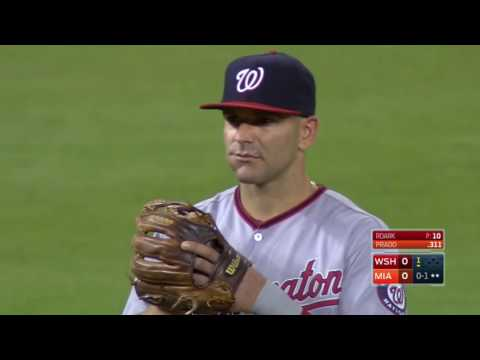 September 20, 2016-Washington Nationals vs. Miami Marlins