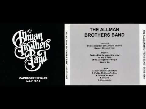 THE ALLMAN BROTHERS BAND live in Macon, GA, April/May 1969