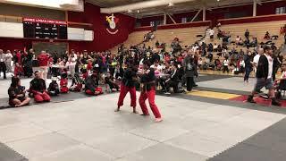 Adrian Hernandez competing in self-defense.
