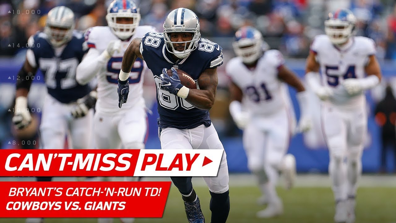 Dez Bryant Shakes Off Janoris Jenkins For A Huge Catch N Run Td Can T Miss Play Nfl Wk 14