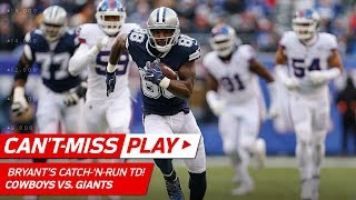 Dez Bryant Shakes Off Janoris Jenkins for a Huge Catch-'n-Run TD! | Can't-Miss Play | NFL Wk 14